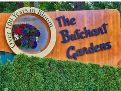 باغ های گل بوچارت در شهر ویکتوریا