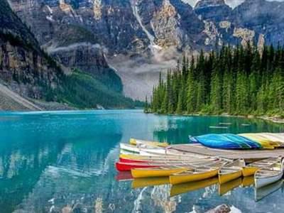 بزرگترین و زیباترین دریاچه های کشور کانادا