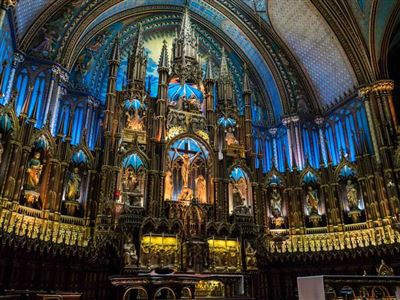آشنایی با کلیسای نوتردام مونترال کانادا